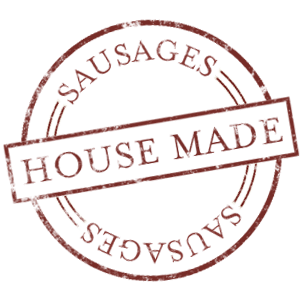house made sausages